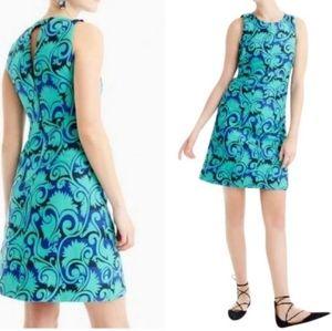 NWOT J.CREW Dress in Vineyard Jacquard Print 4